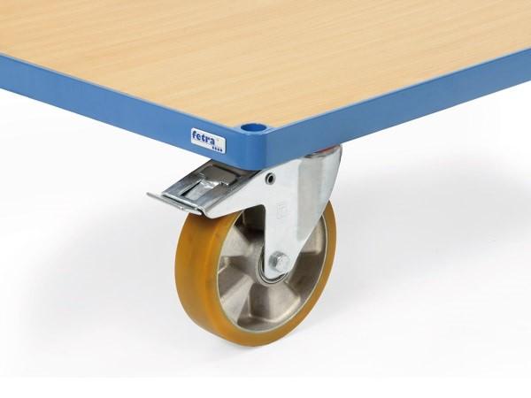 Diese Räder sind perfekt geeignet für einen leichten und geräuscharmen Lauf.
