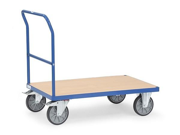 Der Schiebebuegelwagen von Fetra eignet sich perfekt zum Transportieren von schweren und unhandlichen Lasten.