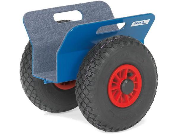 Der breite Plattenroller besitzt eine Klemmbreite von 30 bis 95 mm.