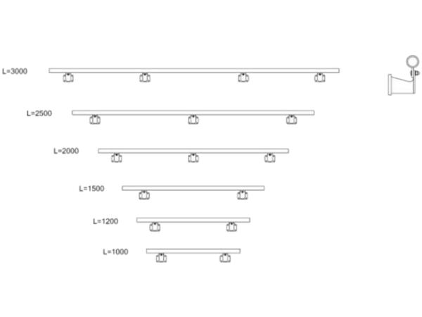 Die Wandbefestigung bietet den optimalen Halt beim Betreten der Auffahrrampe.