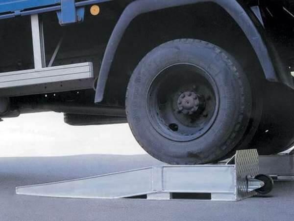 Transportrolle für Auffahrkeil LR