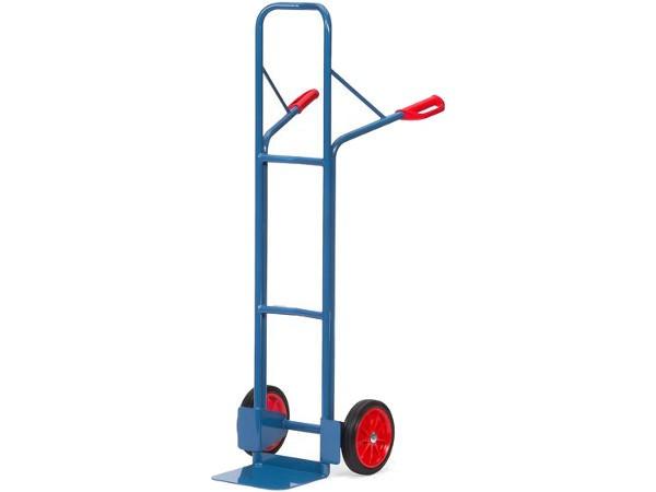 Diese Ausführung hat eine spezielle Vollgummibereifung und kann Lasten bis 300 kg tragen.