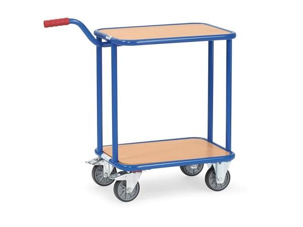 Der Griffroller-Tisch eignet sich zum Transport von schweren und unhandlichen Material.