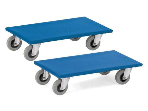Mithilfe der Möbelroller können schwere Möbel mit nur wenig Kraftaufwand von A nach B transportiert werden.