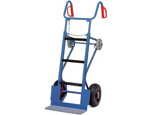 Die robuste Gerätekarre ist speziell für den Transport von sehr schweren Maschinen konzipiert.