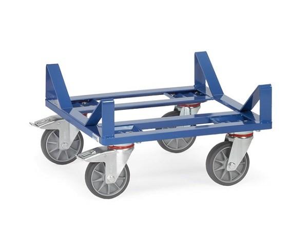 Der praktische Ballenroller ist speziell zum Transport von schweren Stoffballen, Papierrollen, Teppichrollen oder Folienrollen.