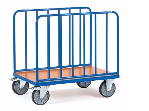 Der Laengswandwagen von Fetra eignet sich perfekt um schwere und undhandliche Lasten zu transportieren.
