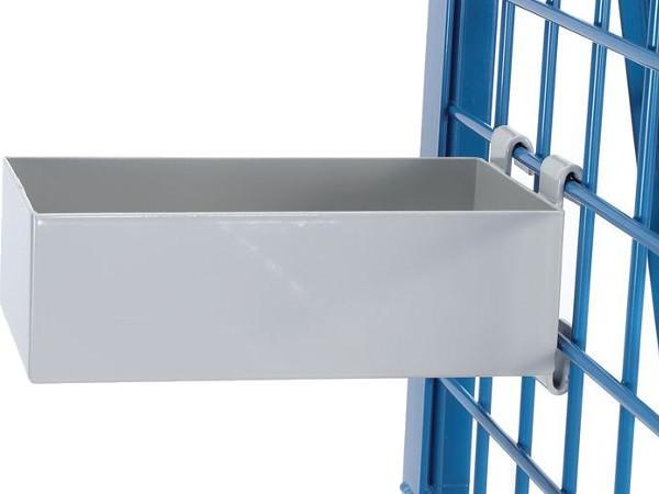 Der kompakte Materialkasten kann bis zu 25 kg tragen.