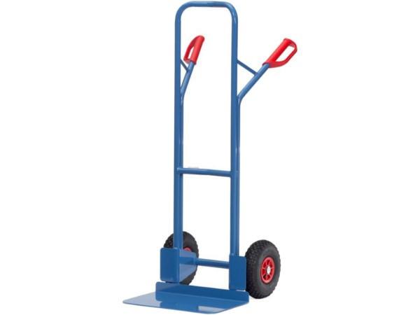 Die robuste Ausführung ermöglicht das Verladen von schweren Lasten bis 300 kg.