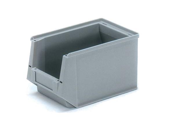 Der Sichtlagerkasten ist optimal um Kleinmaterial sicher verstauen zu können.