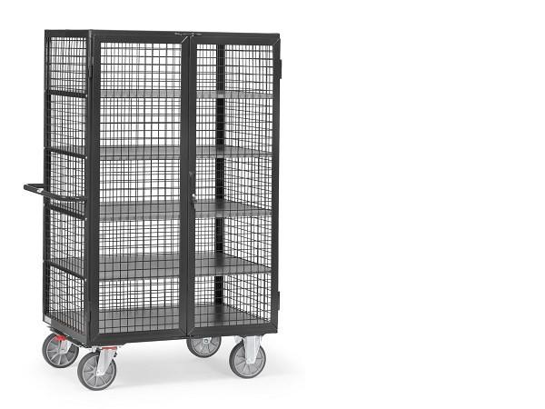 Der Kastenwagen GREY EDITION eignet sich zum Transport von Kartons, Werkzeugen und anderen Lasten.