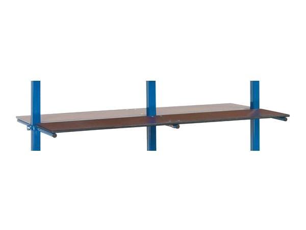 Dieser Etagenboden ist speziell für zweiseitige Tragarmwagen - eine Seite des Etagenboden ist glatt und die andere Seite ist rutschhemmend.