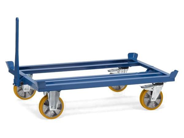 Der praktische Palettenfahrgestellwagen ist speziell für Lasten bis 1000 kg.