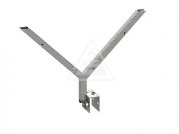 Der praktische Übersteigschutz kann mit dem im Zubehör erhältlichen Stacheldraht ausgestattet werden.