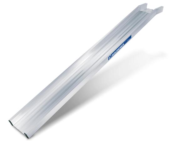Die Aluminium Auffahrschienen Typ A besitzen ein sehr gutes Verhältnis von Eigengewicht zu Tragkraft.