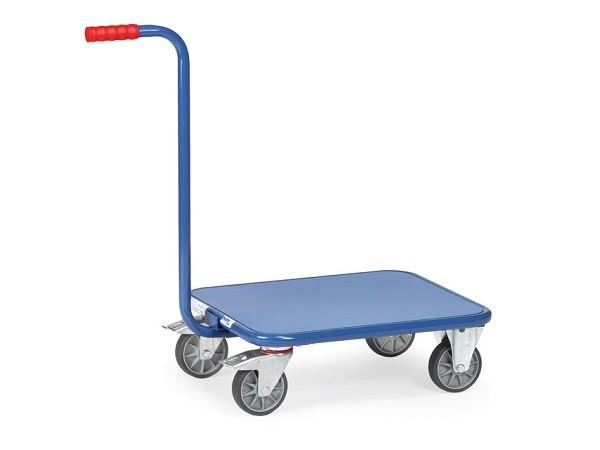 Der Griffroller mit Stahlblechboden ist perfekt geeignet zum Transport von schweren Lasten bis 250 kg.