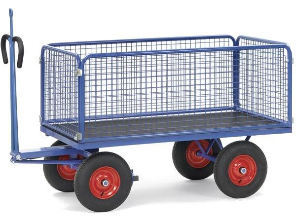 Der praktische Handpritschenwagen 6434LZ überzeugt durch hohe Tragkraftwerte bis zu 1250 kg.