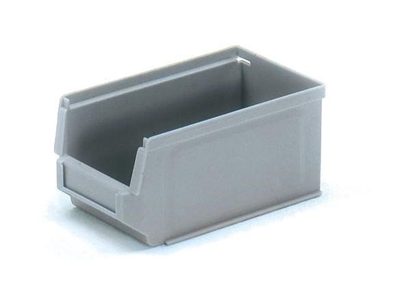 Der kleine Sichtlagerkasten kann bis zu 1 kg tragen.