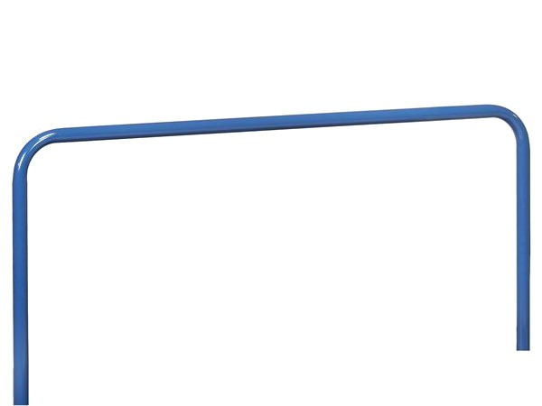 Der mittelgroße Einsteckbügel besitzt eine Höhe von 600 mm und kann in die vorgefertigten Öffnungen der Plattenwagen einfach eingesteckt werden.