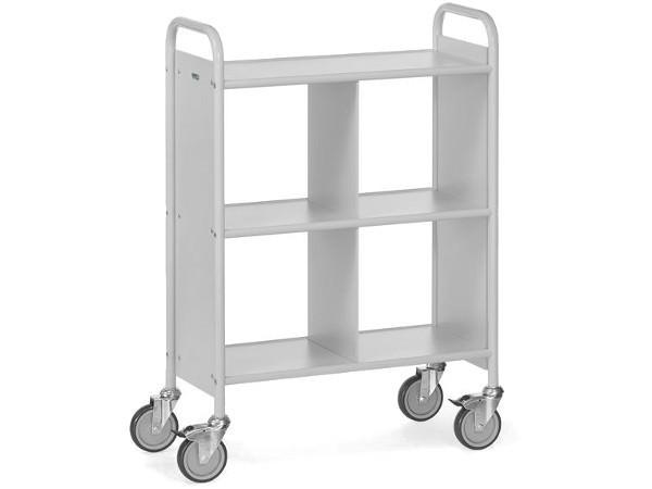 Der praktische Bürowagen kann Akten und Dokumente sicher von A nach B befördern.