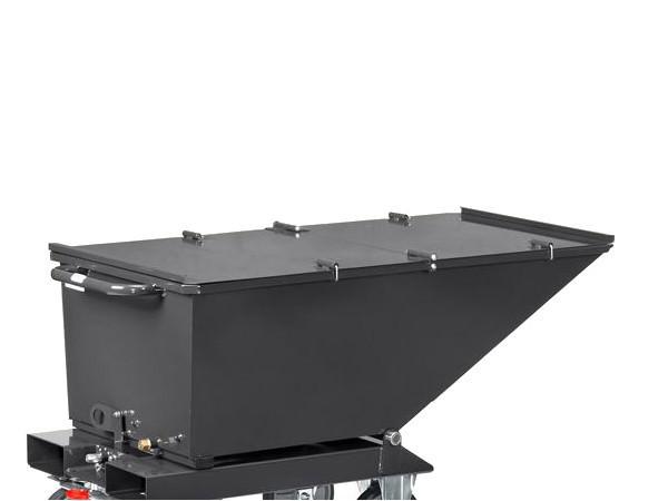 Der praktische Deckel ist passend für den Muldenkipper 4701/7016.