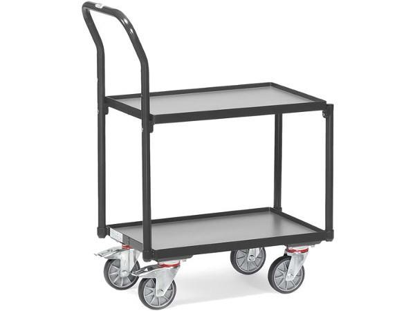 Der Etagenroller Grey Editon bietet Platz für 2 große Eurokästen.
