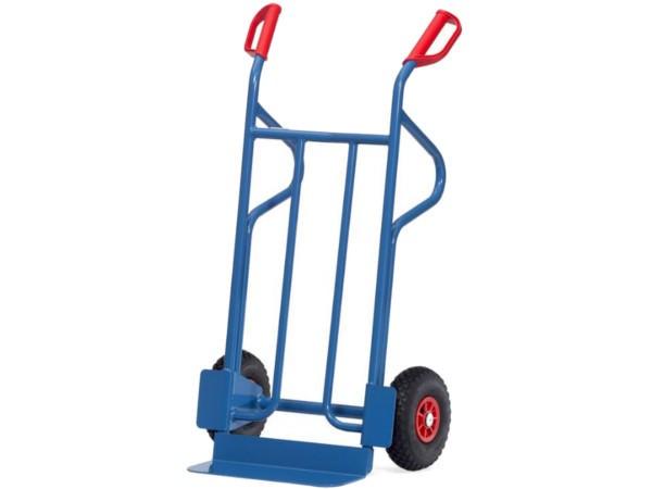 Mit 350 kg Tragkraft gehört dieser Karren zu den robustesten Ausführungen im Sortiment.