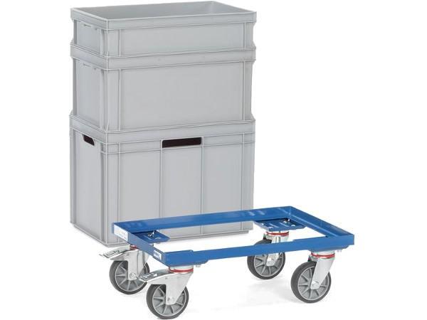 Der Eurokasten Roller kann bis zu 250 kg tragen.