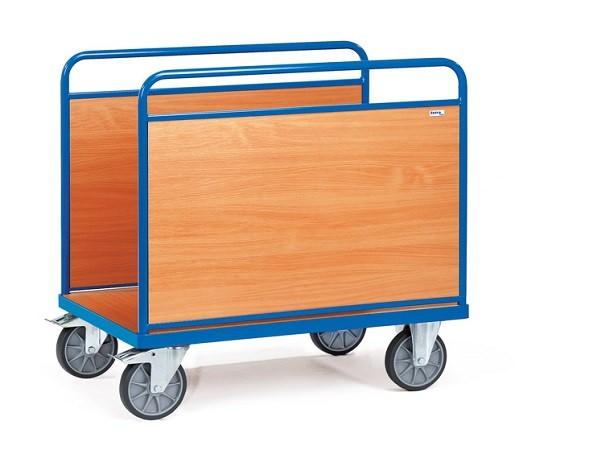 Der Ballenwagen von Fetra eignet sich perfekt um schwere und undhandliche Lasten zu transportieren.