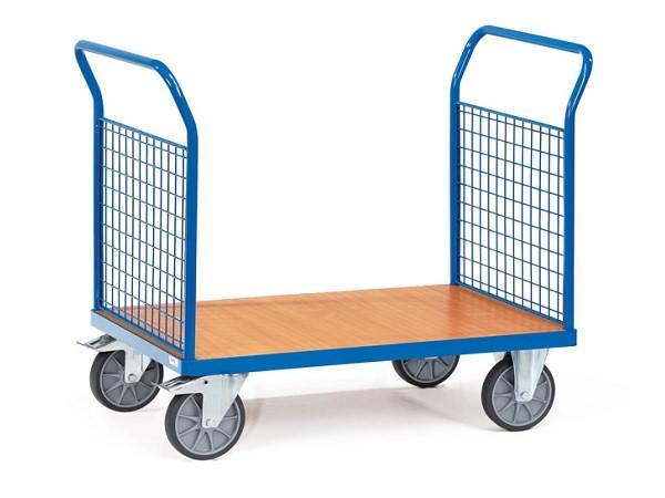 Der Doppel-Stirnwandwagen aus dem Hause Fetra ist perfekt geeignet um Lasten von A nach B zu transportieren.