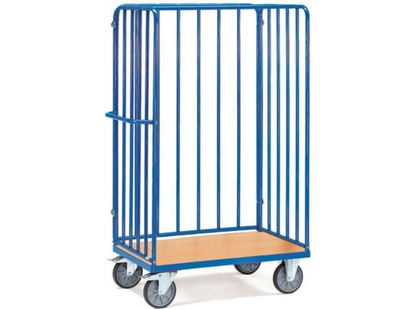 Der praktische Paketwagen eignet sich optimal zum Transport von vielen oder unhandlichen Paketen.