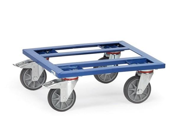 Der Kistenroller mit offenen Rahmen eignet sich perfekt zum Verladen von schweren Lasten in Kisten.