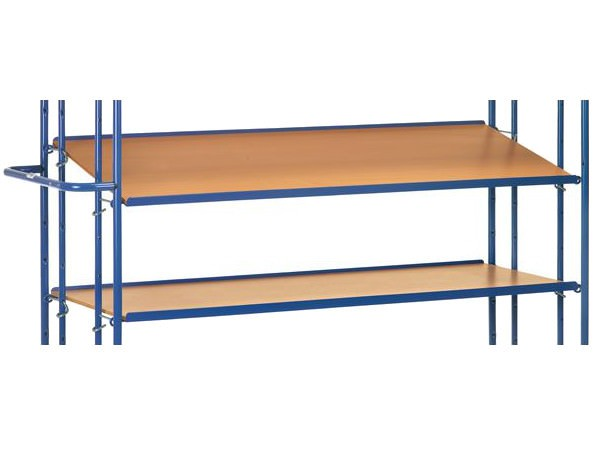 Der einhängbare Boden ist speziell für fetra Etagenwagen konzipiert.