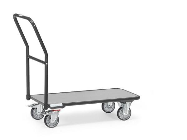 """Der Magazinwagen """"GREY EDITION"""" eignet sich perfekt um schwere Büromaterialien zu transportieren."""