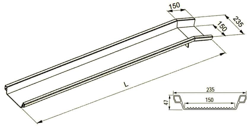 Rollstuhlschienen-ABS-Altec-technische-Zeichnung