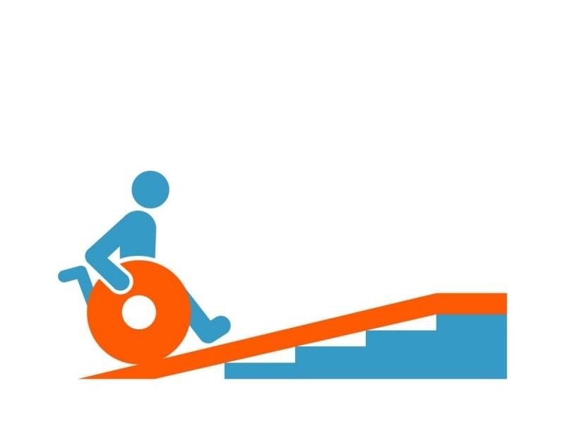Welche Steigung darf eine Rollstuhlrampe haben?