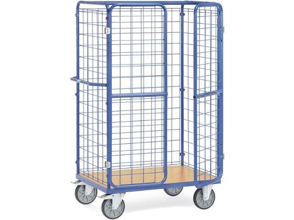 Der 1800 mm hohe Paketwagen bietet viel Raum für Pakete.