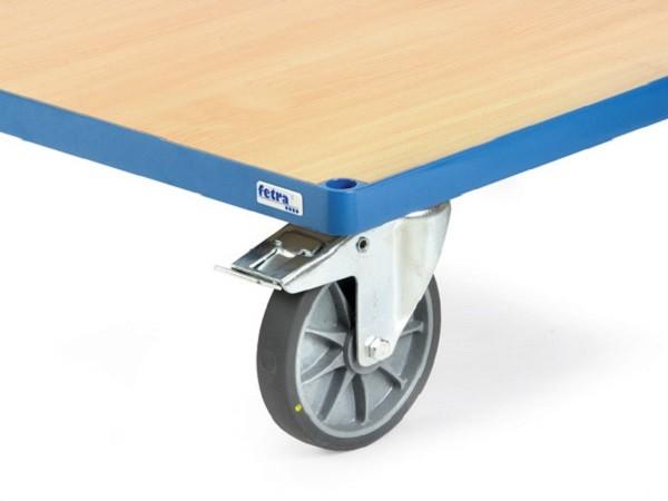 Die Räder mit TPE-Reifen sind antistatisch und hinterlassen keine Fahrspuren auf dem Untergrund.