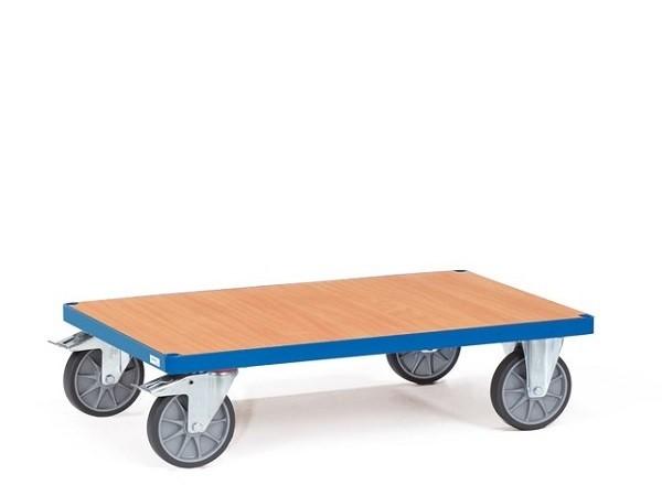 Mithilfe des Basiswagen von Fetra können schwere Lasten problemlos von A nach B geschoben werden.