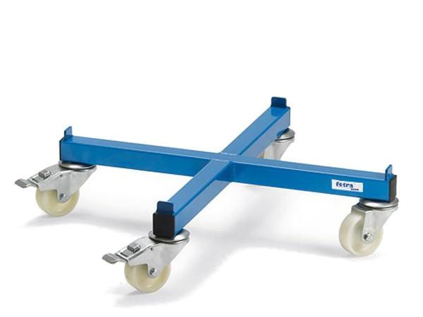 Der Fassroller in Kreuzform ist für den einfachen Transport von 200-Liter-Fässer geeignet.