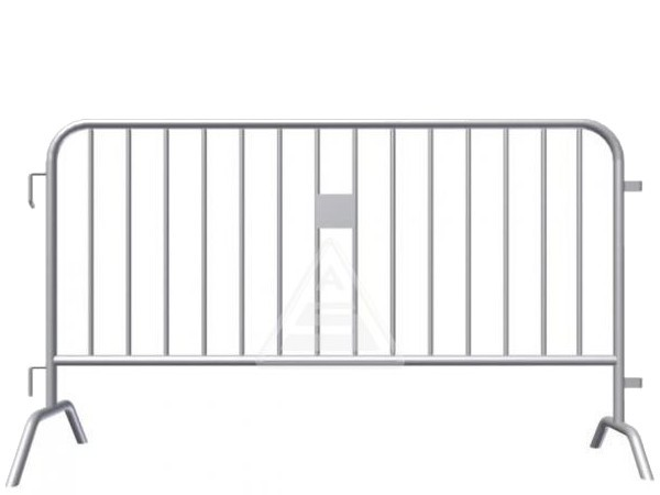 Das Absperrgitter Typ D gibt es in zwei verschiedenen Längen.