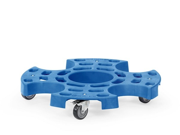 Der praktische Reifenroller TYRE TROLLEY eignet sich perfekt um schwere Räder oder Reifen von A nach B zu transportieren.