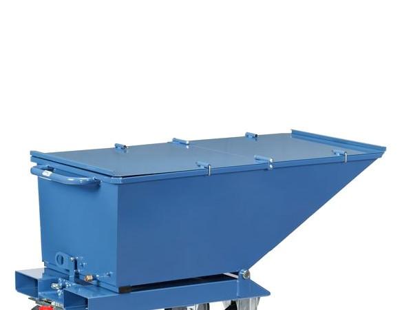 Der praktische Deckel passt nur für den Muldenkipper 4701.