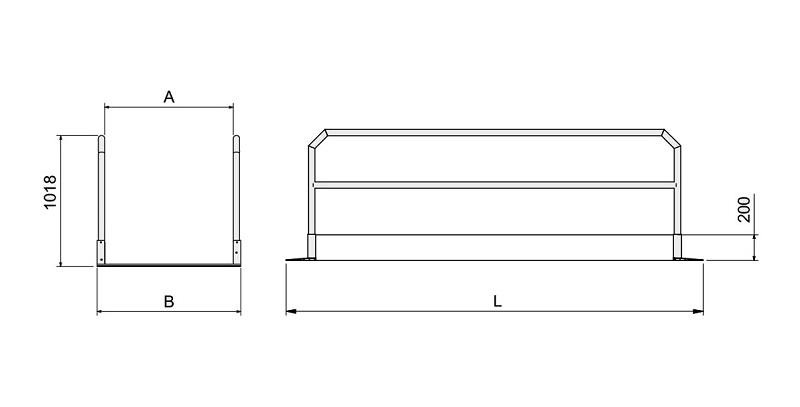 technische-zeichnung-MPP-Laufbruecke-aus-Aluminium-mit-Gelaender-1
