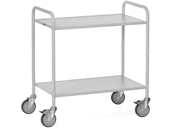 Der wendige Bürowagen ermöglichtz den einfachen Transport von schweren und unhandlichen Lasten.