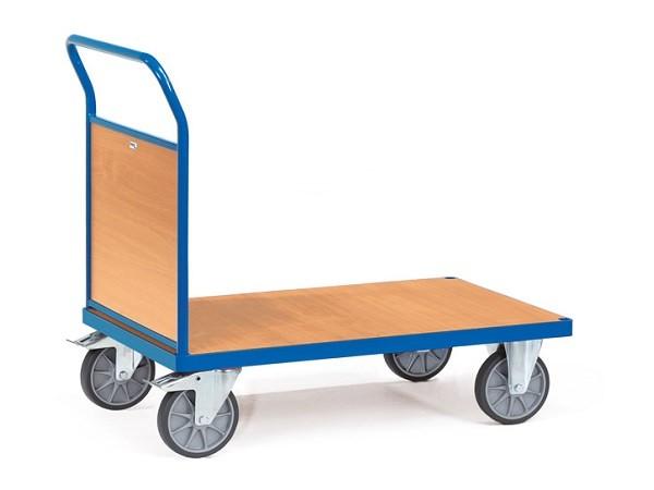 Der MultiVario-Transporter von Fetra eignet sich perfekt um schwere Lasten von A nach B zu schieben.