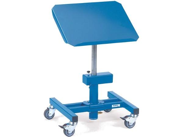 Der robuste Materialständer ermöglicht die Lagerung von Material bis 150 kg.