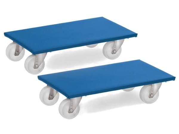 Die 2 Möbelroller eignen sich perfekt um schwere und unhandliche Möbel von A nach B zu schieben.