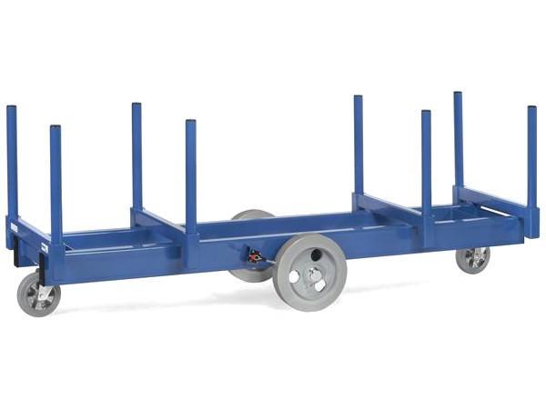 Dieser Wagen kann mittels Kran oder Stapler problemlos be- und entladen werden.