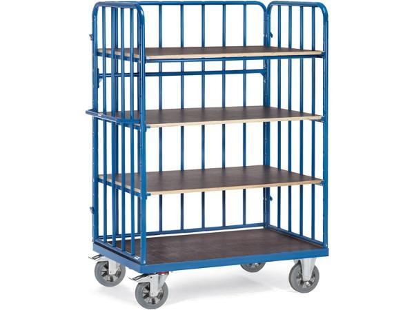 Der Schwerlast-Etagenwagen kann bis zu 1200 kg problemlos von A nach B transportieren.